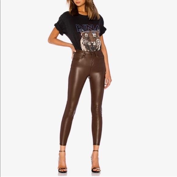Free People Pants - Free People Vegan Leather Long @ Lean